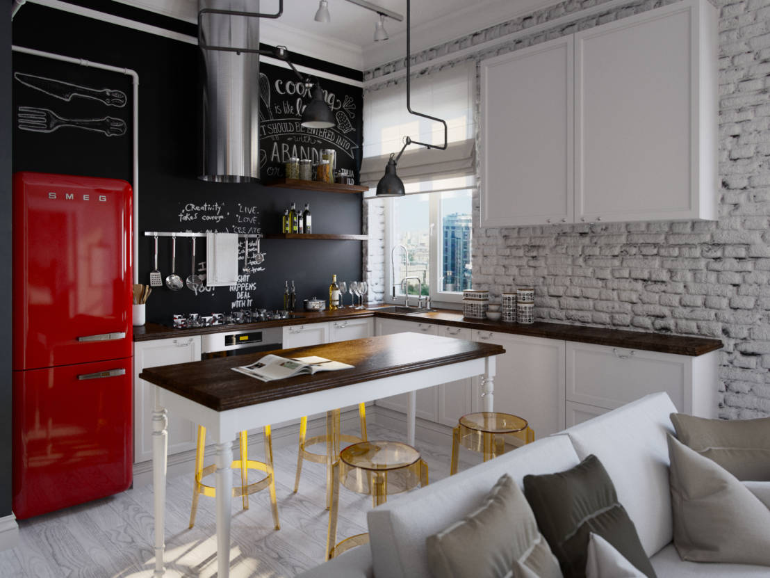 your wasted kitchen wall could be great