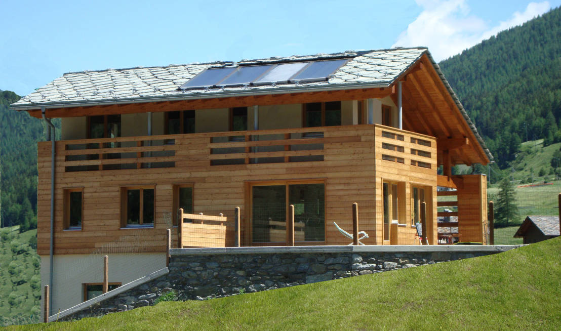 The fabulous pre fab mountain home for Pre engineered houses