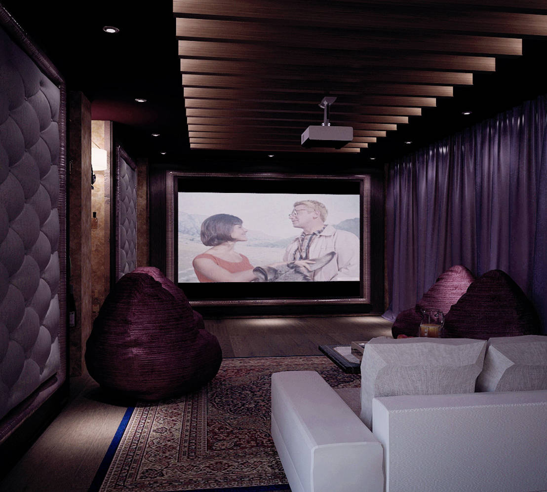 Classic multimedia rooms for Shtantke Interior Design