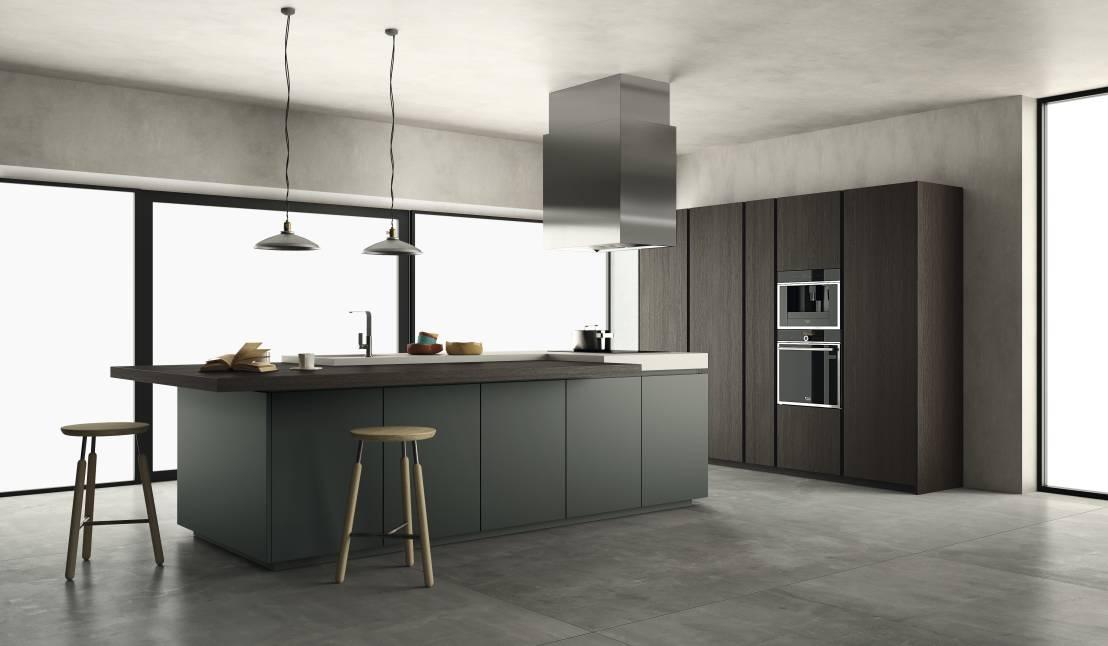 Le cucine moderne: il nero