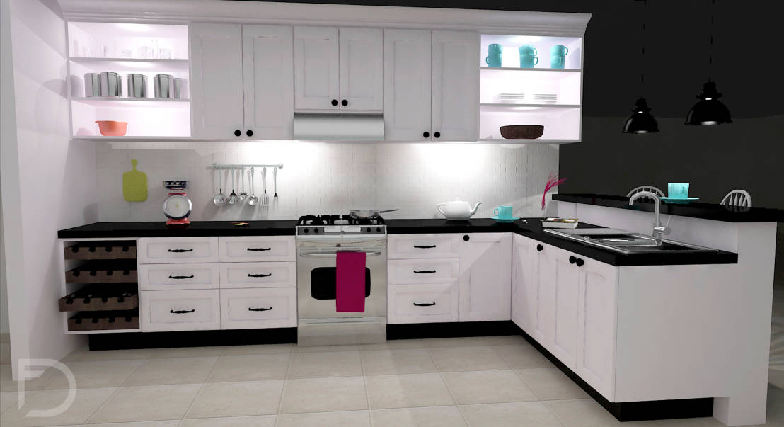 Yes For The U Shaped Kitchen