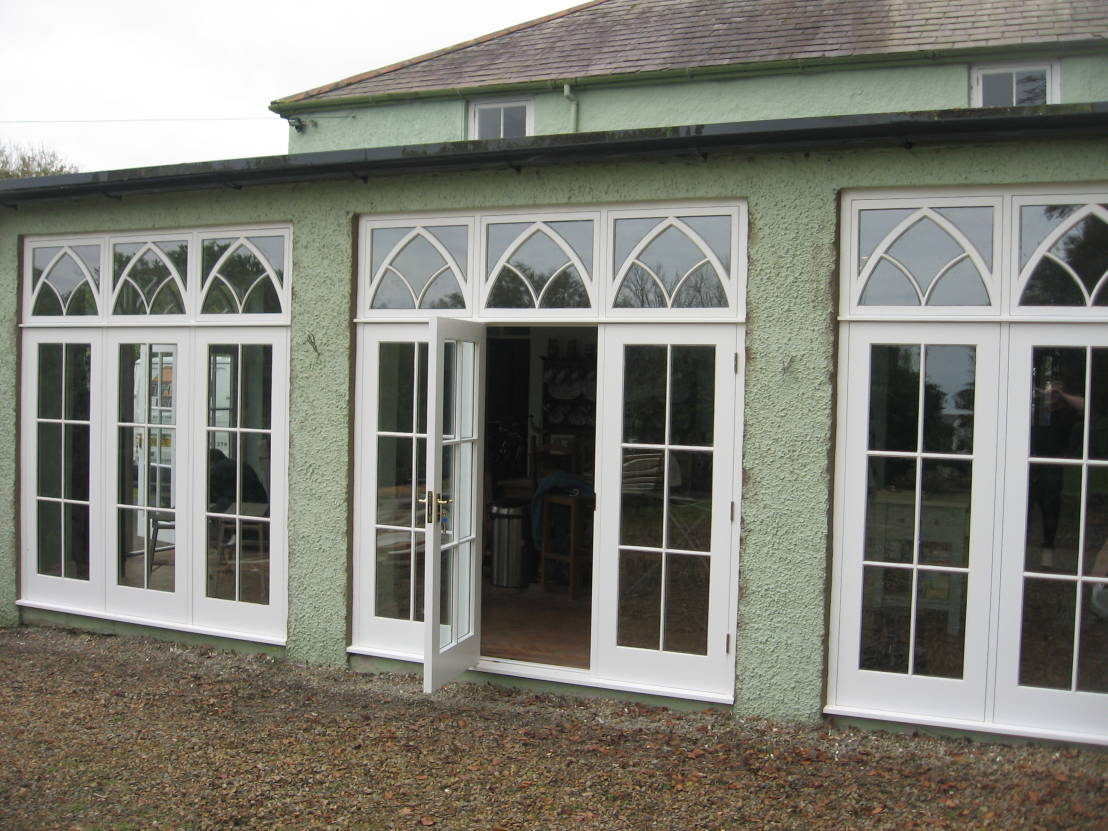Double exterior french doors for Double opening exterior french doors