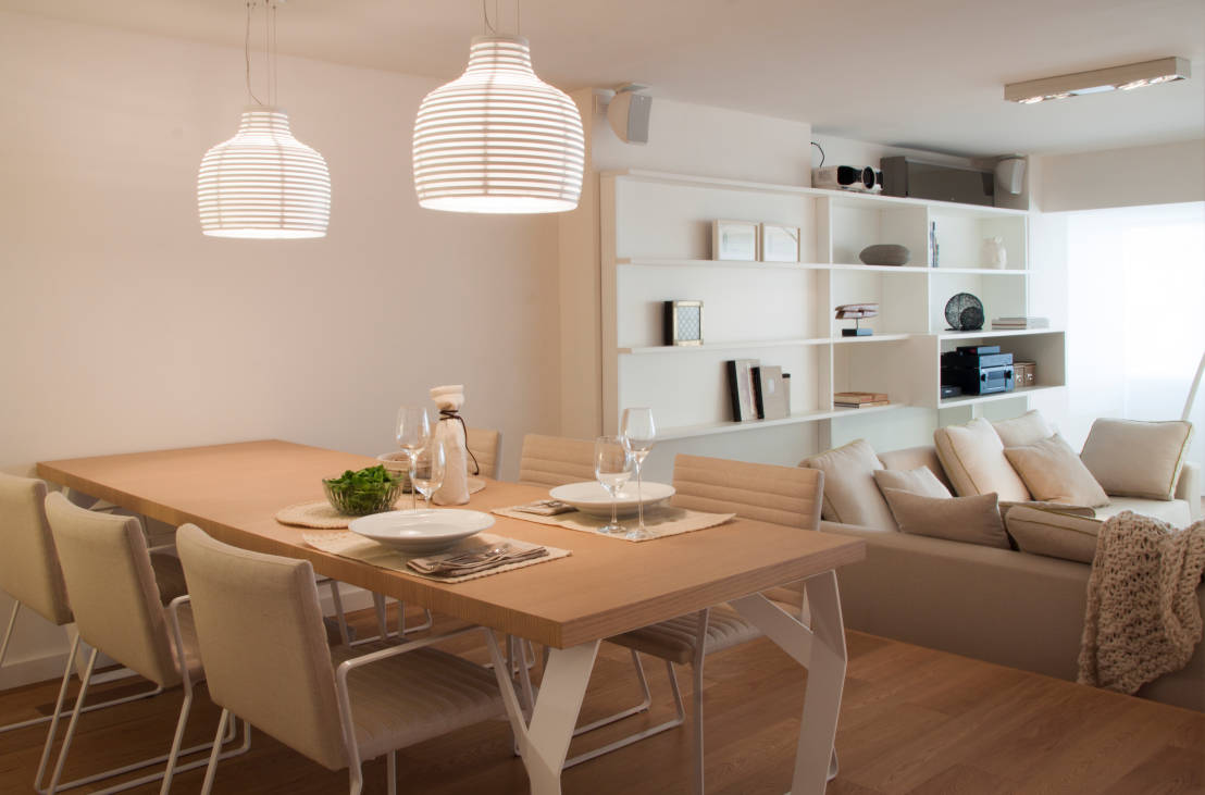 5 ideas for small but very modern dining rooms for Very small dining room ideas
