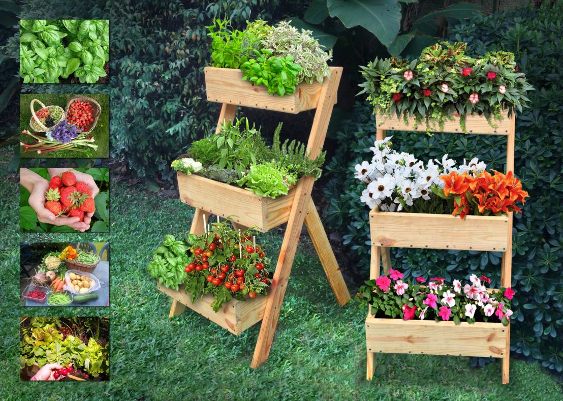 8 creative do it yourself garden projects for Do it yourself garden