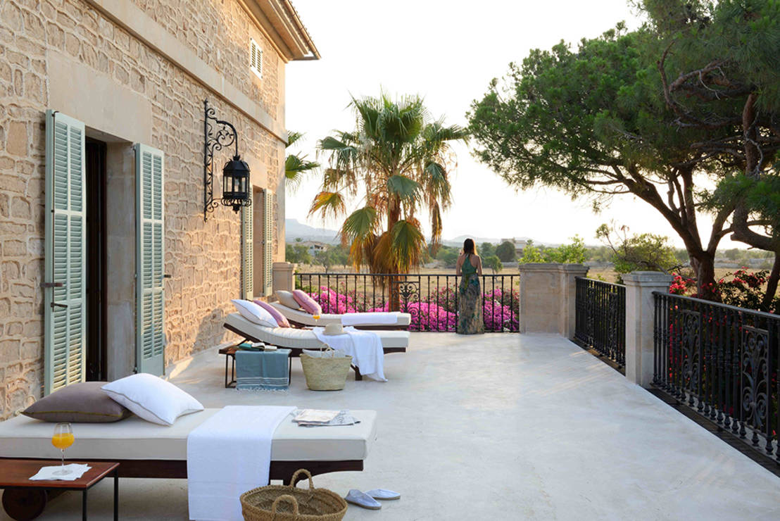 6 ideas para decorar tu terraza estilo mediterr neo y for Decorar piso vacaciones