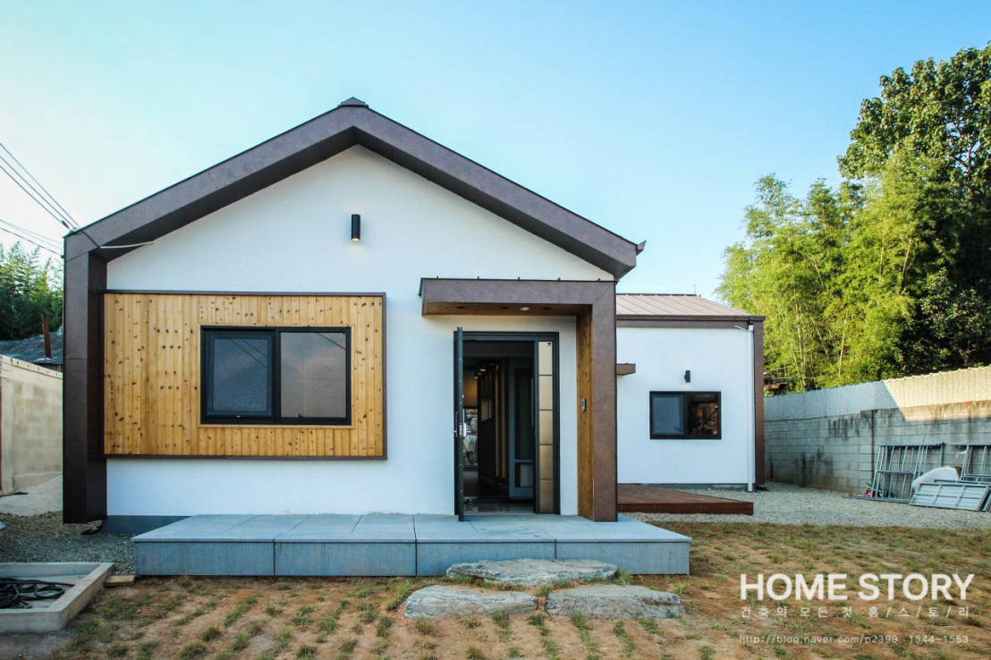 Perfect home on a small plot of land for Perfecr home