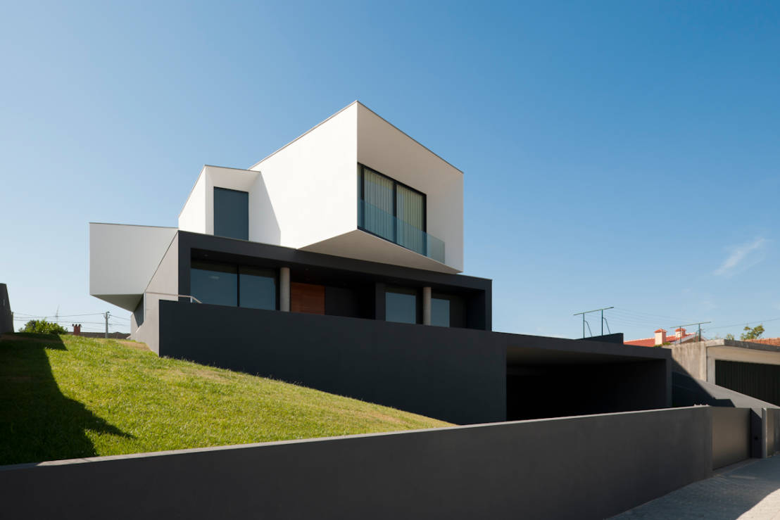 The black and white future house