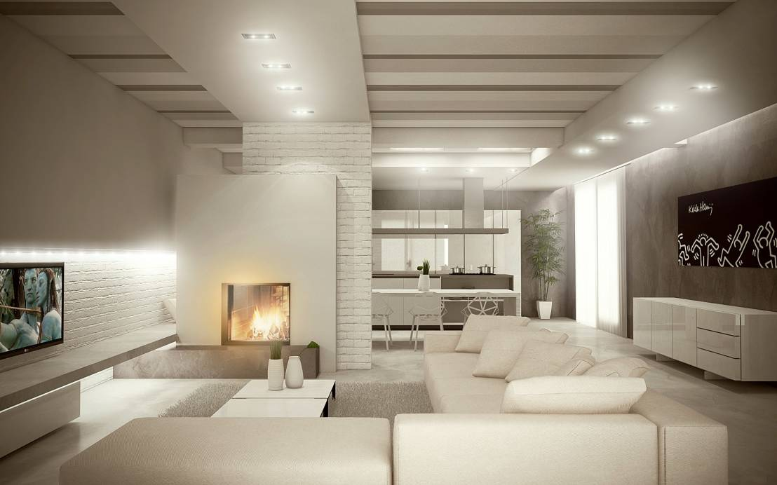 Casas modernas 6 ideas para decorar en color blanco - Ideas casas modernas ...