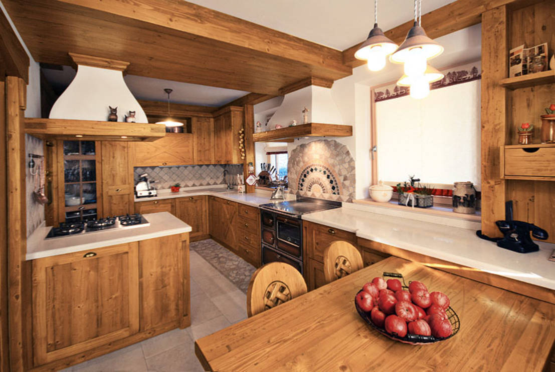 Restyling in cucina come renderla rustica con semplicit for Idee casa rustica