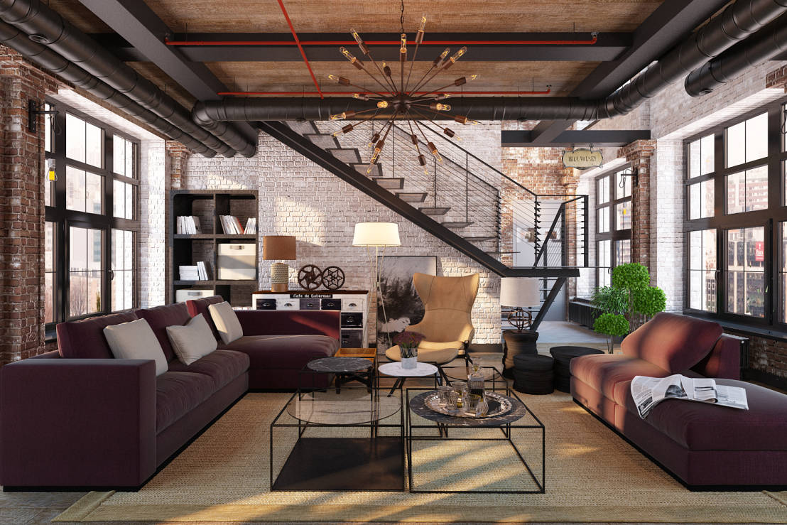 Salas de estilo industrial 5 tips para tener una y for Create modern home decor kansas city