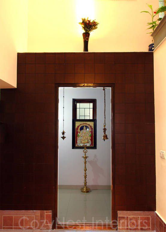 7 beautiful pooja room designs - Pooja room door designs in kerala ...