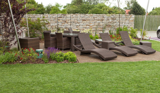 die terrasse im garten von warco bodenbel ge homify. Black Bedroom Furniture Sets. Home Design Ideas