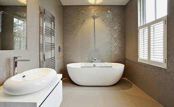 Luxury Apartments In Henley Featuring Porcel Thin Tiles By