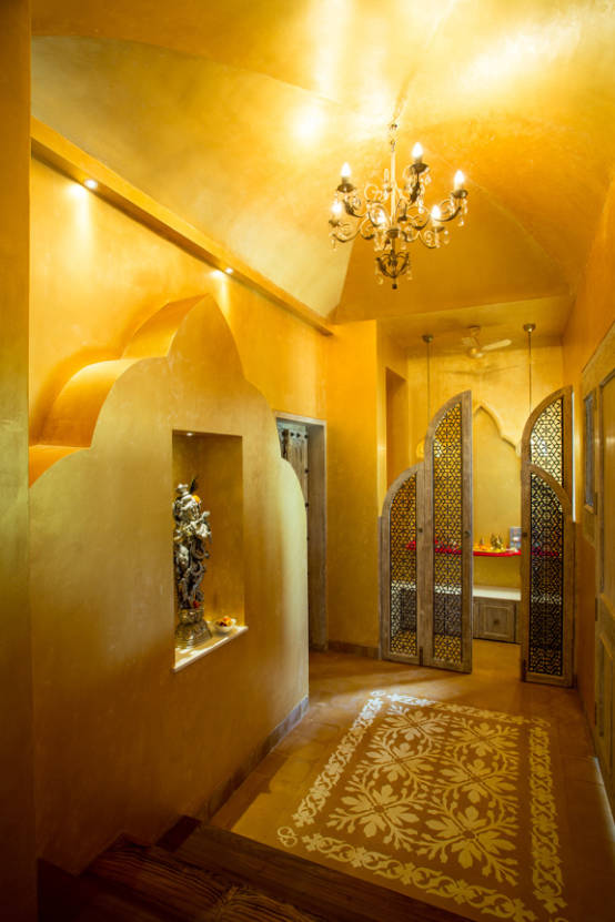 Eclectic style corridor, hallway & stairs by The Orange Lane