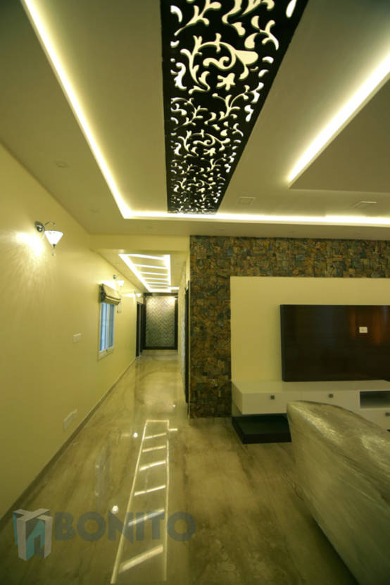 False Ceiling Designs For Living Room In Flats: The House Of Seven Wonders