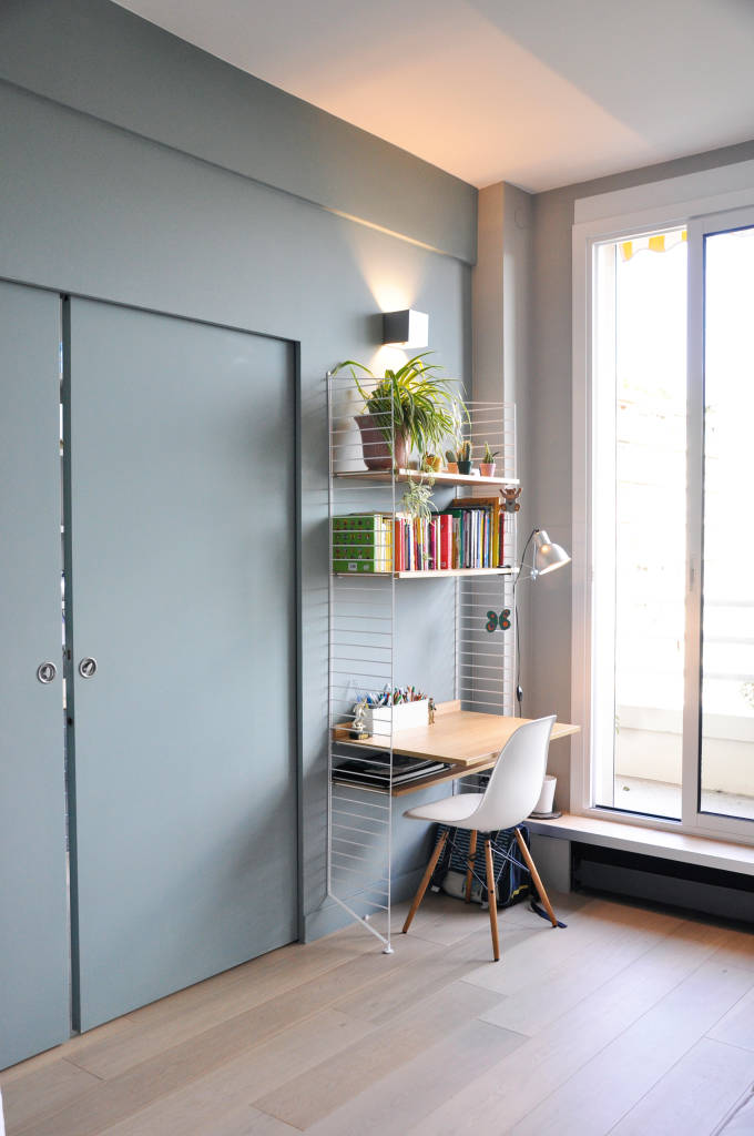 Photos de bureau de style moderne appartement paris xvi for Style appartement moderne