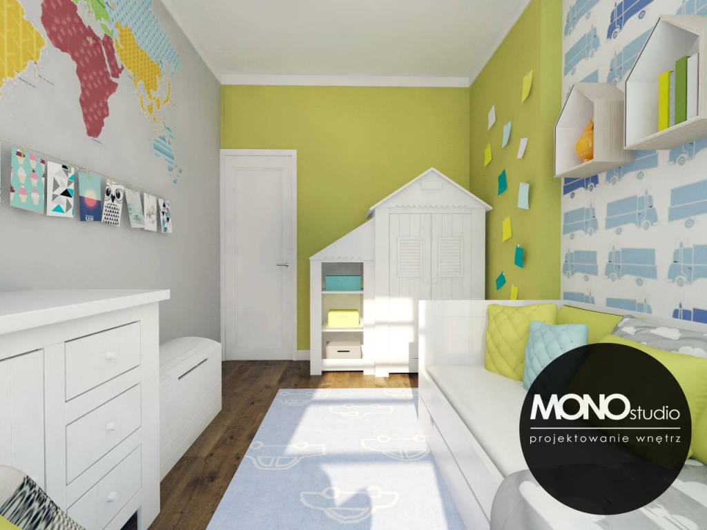modern kinderzimmer bilder von monostudio homify. Black Bedroom Furniture Sets. Home Design Ideas