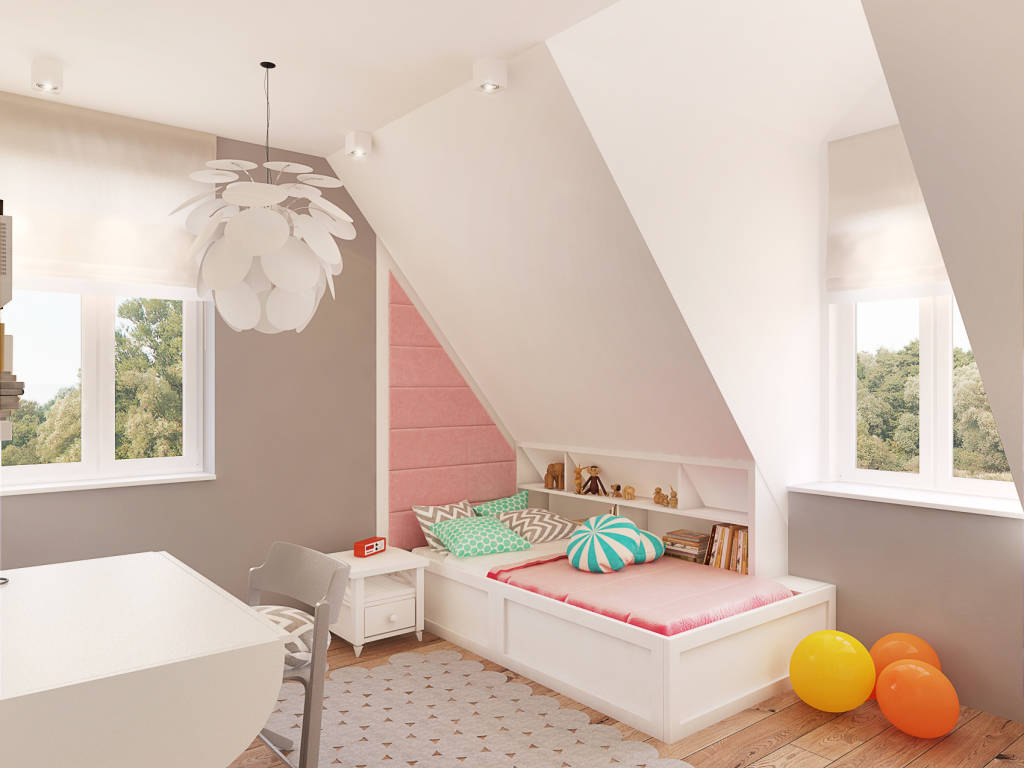 Photos de chambre d enfant de style scandinave par for Chambre style scandinave