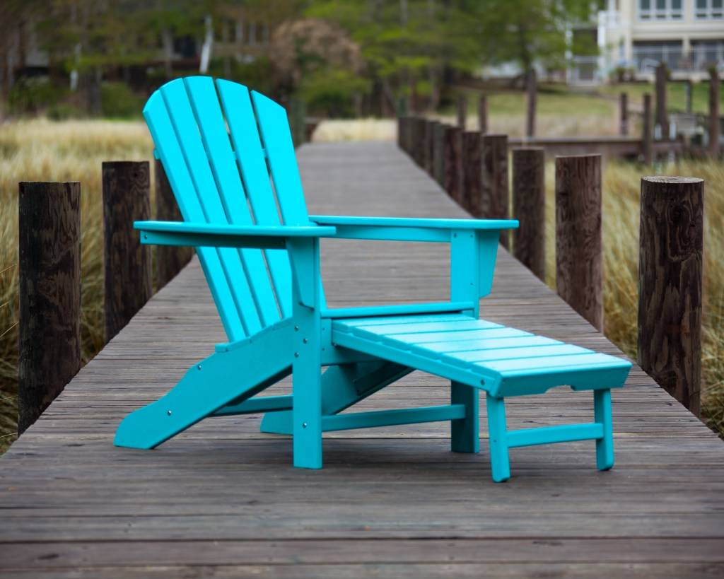 casa bruno adirondack deckchair liegestuhl mit ausziehbarem fussteil in farbe aruba. Black Bedroom Furniture Sets. Home Design Ideas