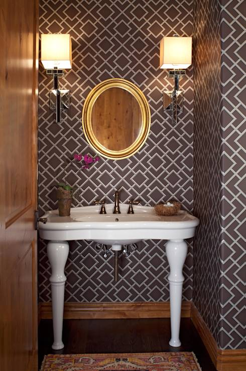 21st CenturyTraditional: Classic Bathroom by Andrea Schumacher Interiors