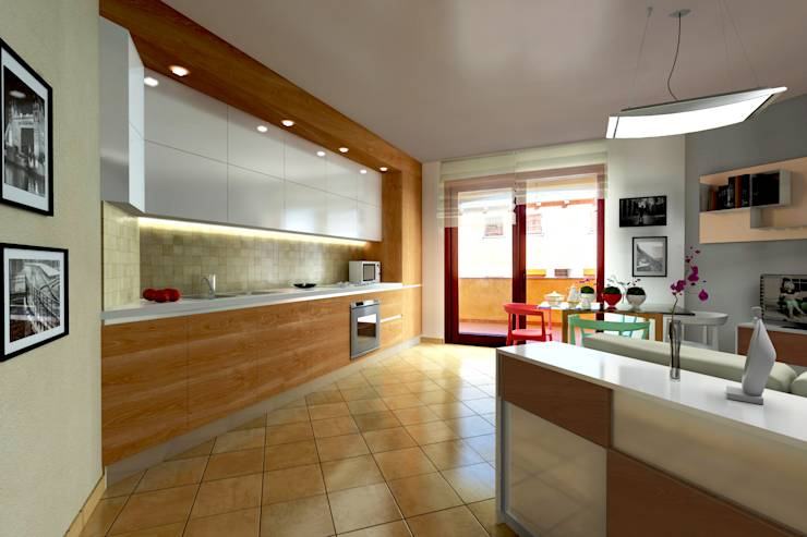 Virtual home staging casa privata in sardegna by aaa architettura ...