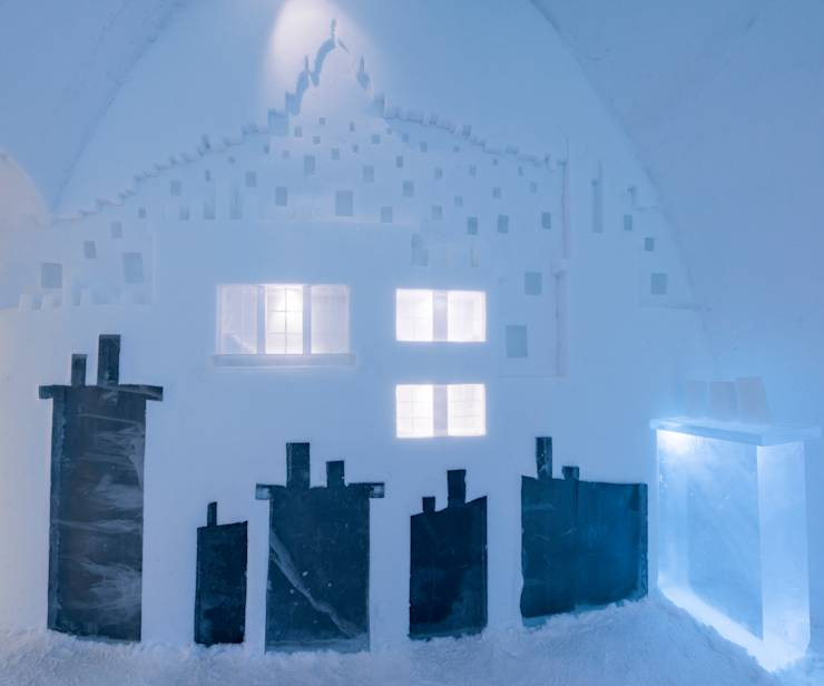 icehotel h tel de glace de jukkasj rvi. Black Bedroom Furniture Sets. Home Design Ideas
