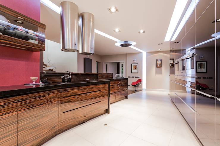 How to plan a clutter free open plan kitchen
