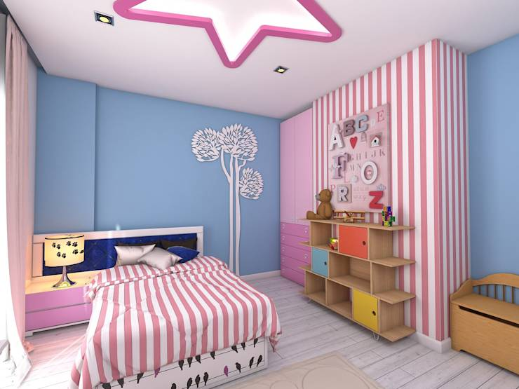 10 ideas para decorar rec maras infantiles for Pintura en interiores de recamaras