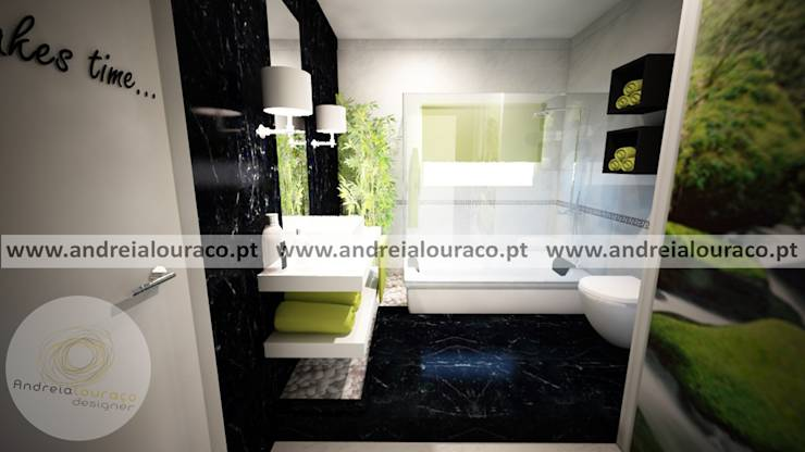 decoracao interiores wc : decoracao interiores wc:Projecto de Decoração de Wc by Andreia Louraço Design e Interiores
