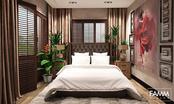 12 amazing bedroom designs for Bedroom ideas to boost intimacy