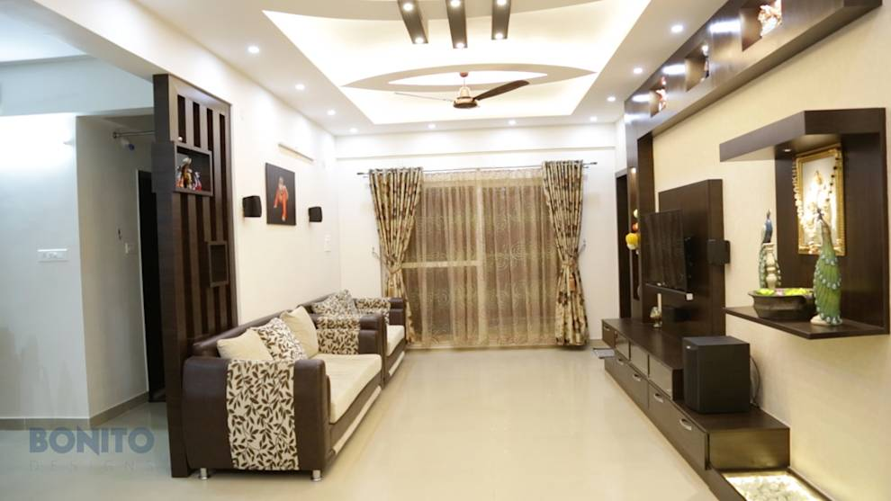 Design hacks for small living rooms for Living room designs bangalore