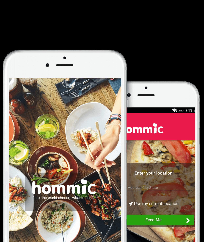Hommic Mobile App