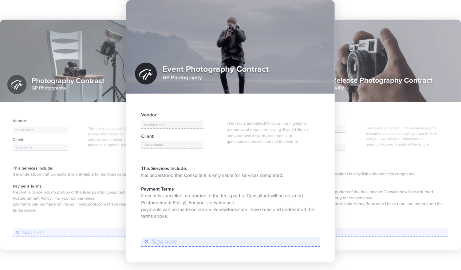 The Best Photography Contract Template Collection