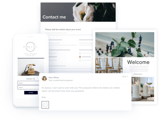Showcase your planning services with flexible templates
