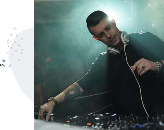 DJ client management software