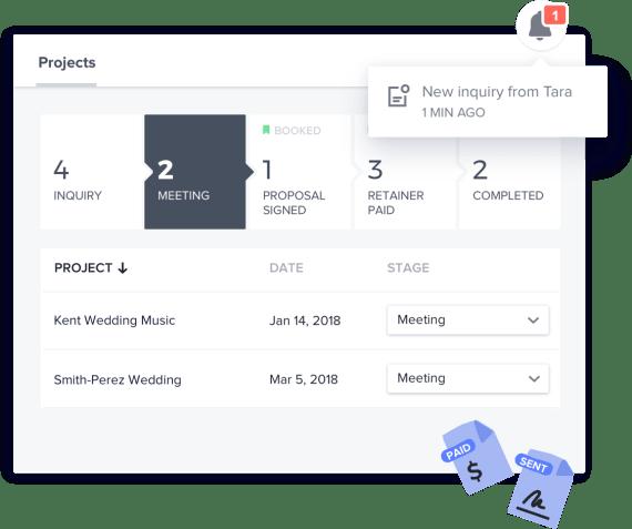 Venue workflow