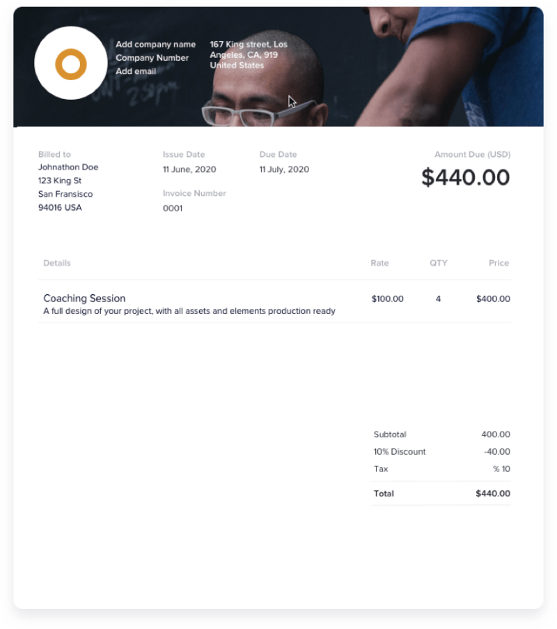 How to Customize Your Coach Invoice Template Like a Pro