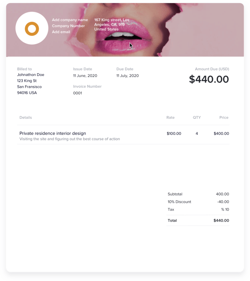 How to Customize Your Graphic Design Invoice Template