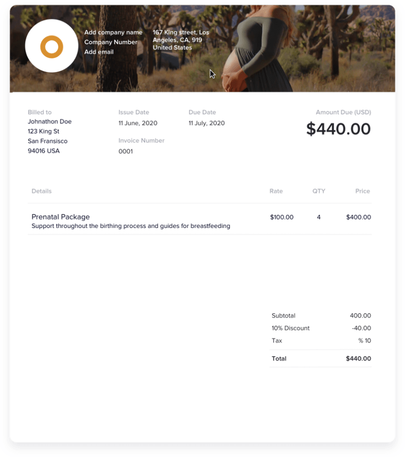 How to Customize Your Doula Invoice Template Like a Pro