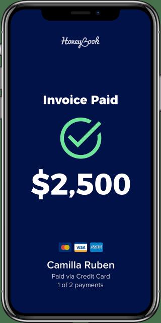 App - Invoice Paid