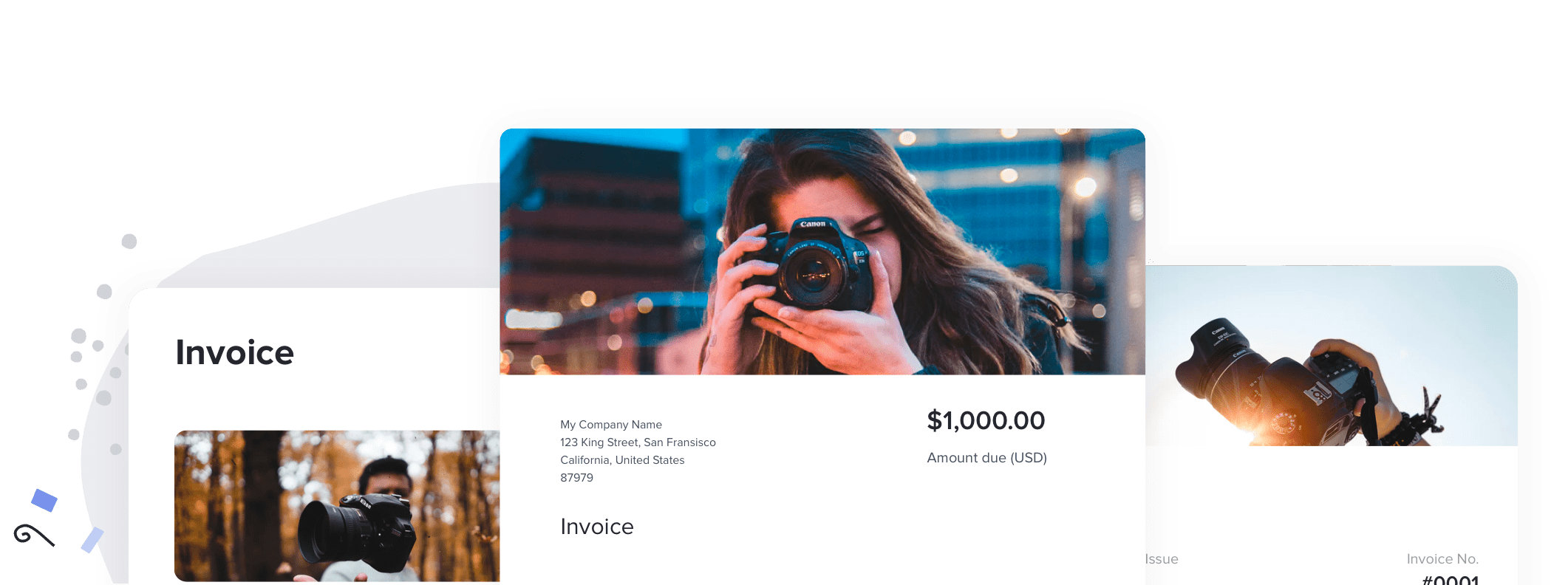 The Best Free Invoice Templates for Photographers