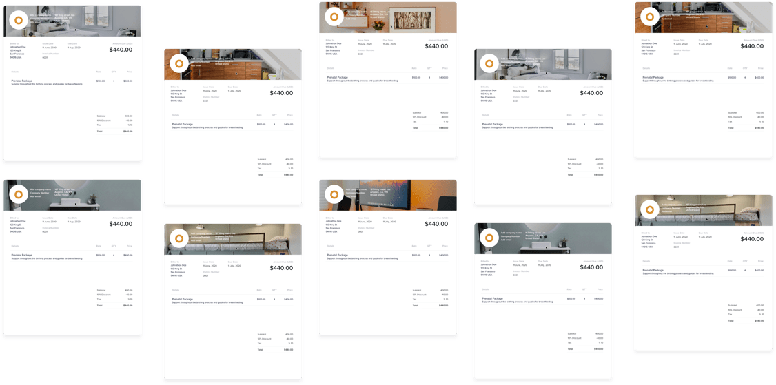7 Types of Invoices for Interior Designers