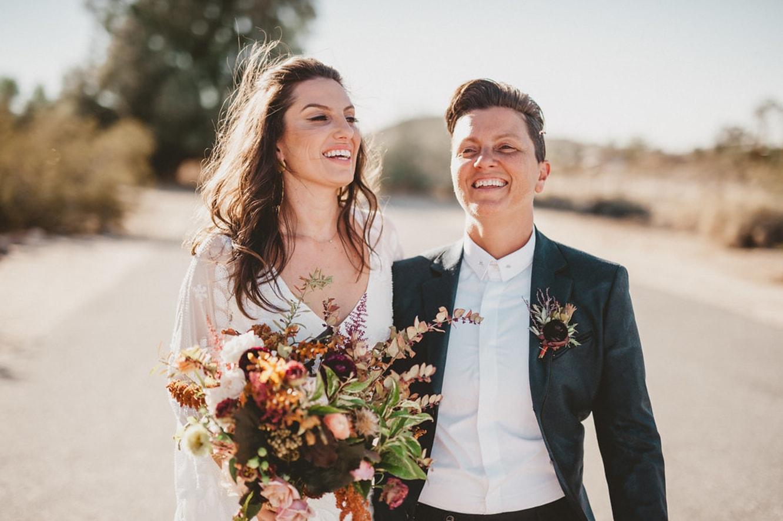 Sara Danas Joshua Tree Wedding Honeybook