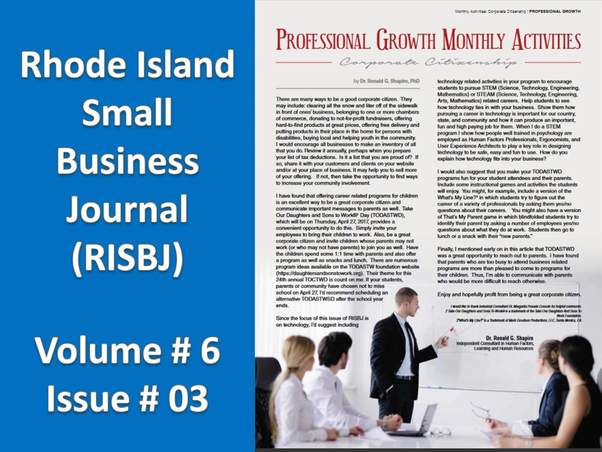 RISBJ 2017 Articles: Profesional Growth   HoneyBook