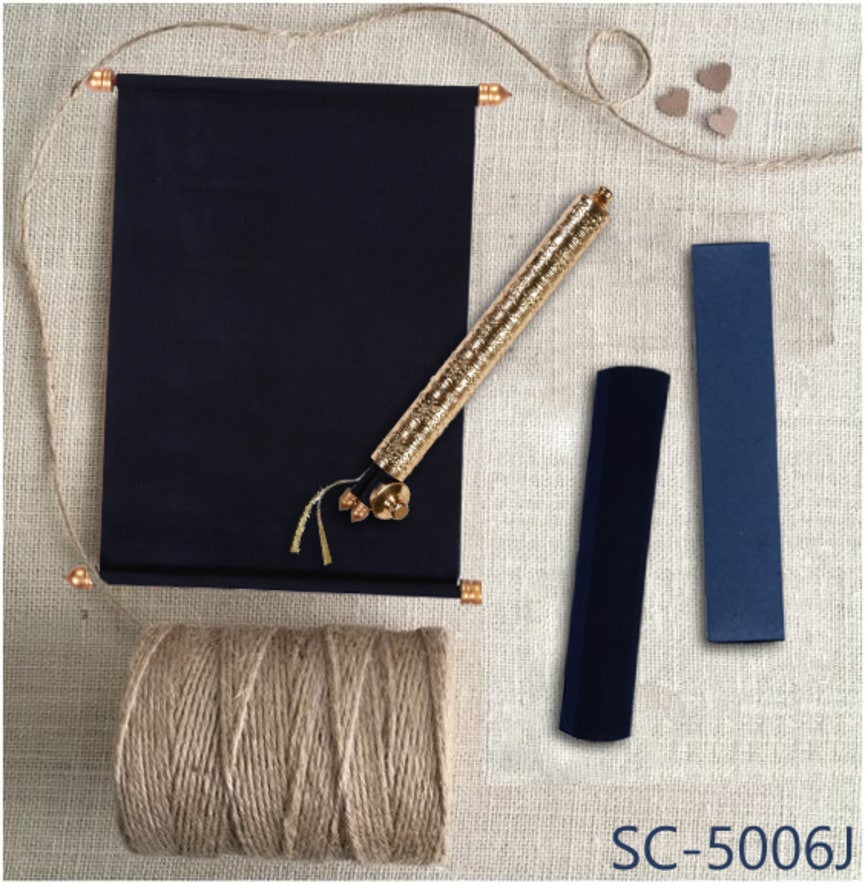 Shop here at https://www.123weddingcards.com/card-detail/SC-5006J For More Velvet Scroll invitations please visit our Wide range of invites at... ...