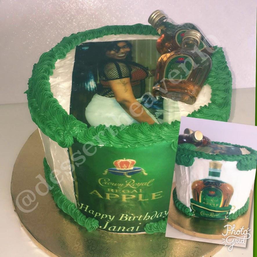 Apple Crown Royal Cake Honeybook