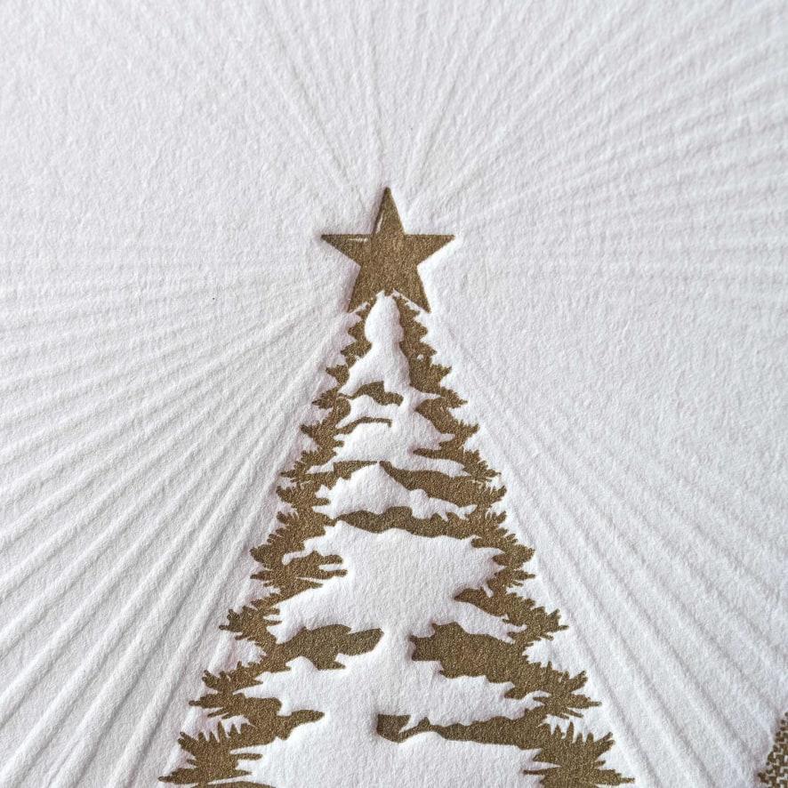Letterpress Christmas Cards | HoneyBook