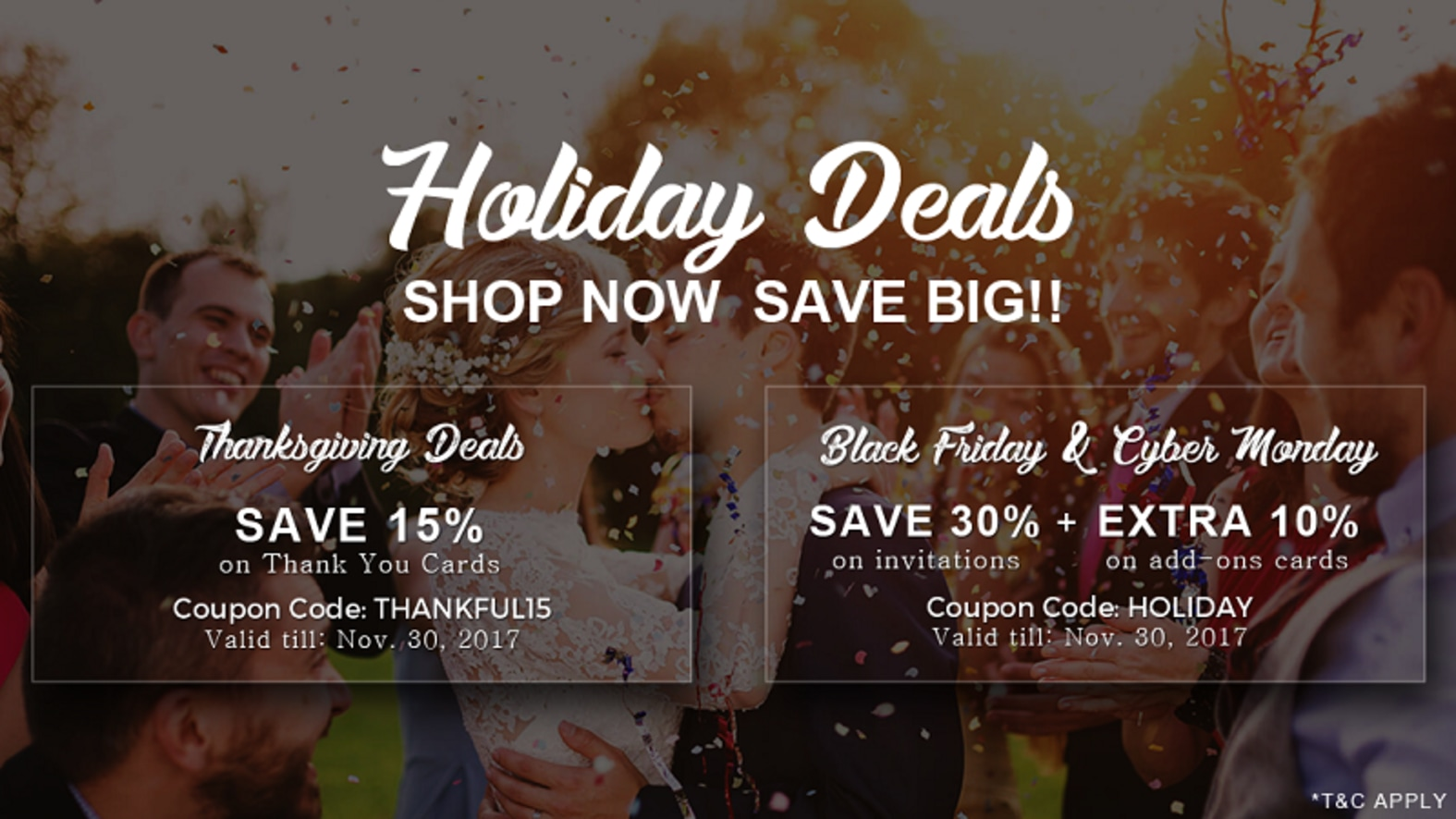 black friday and thanksgiving deals honeybook