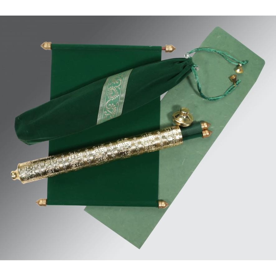 green scroll invitations sc 5005i honeybook