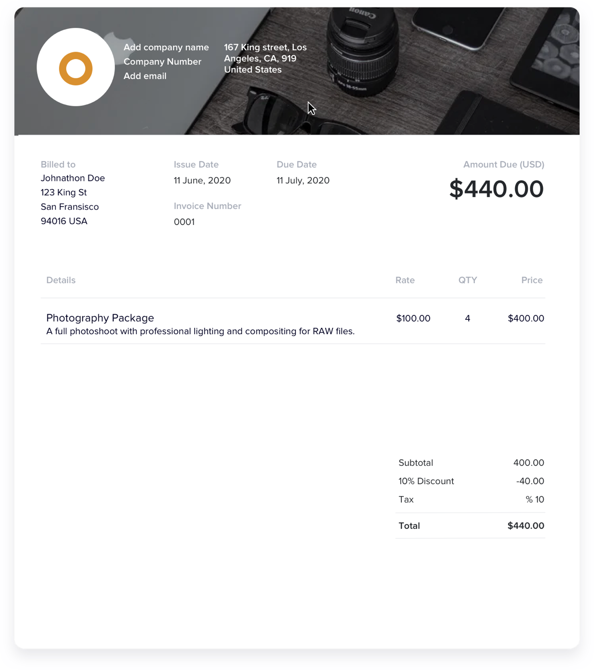 How to Customize Your Photography Invoice Template Like a Pro